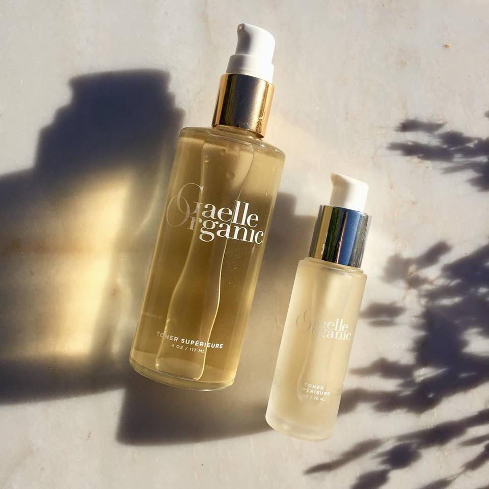 Gaelle Organic | Toner Superieure | Clear the Complexion and Balance Skin's pH Levels