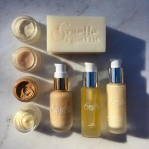 Gaelle Organic | Everything you Love About our Organic Skincare in Convenient, Travel Friendly and Reusable Glass