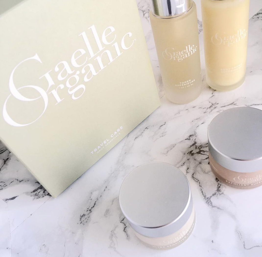 Gaelle Organic Travel Care Ethical Esthetician Sustainable Packaging